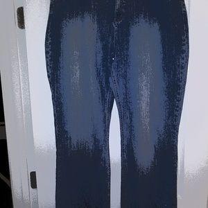 Ladies Distressed INC Denim Jeans (18)